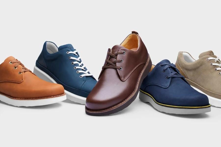 男式皮鞋运动鞋鞋子促销录音