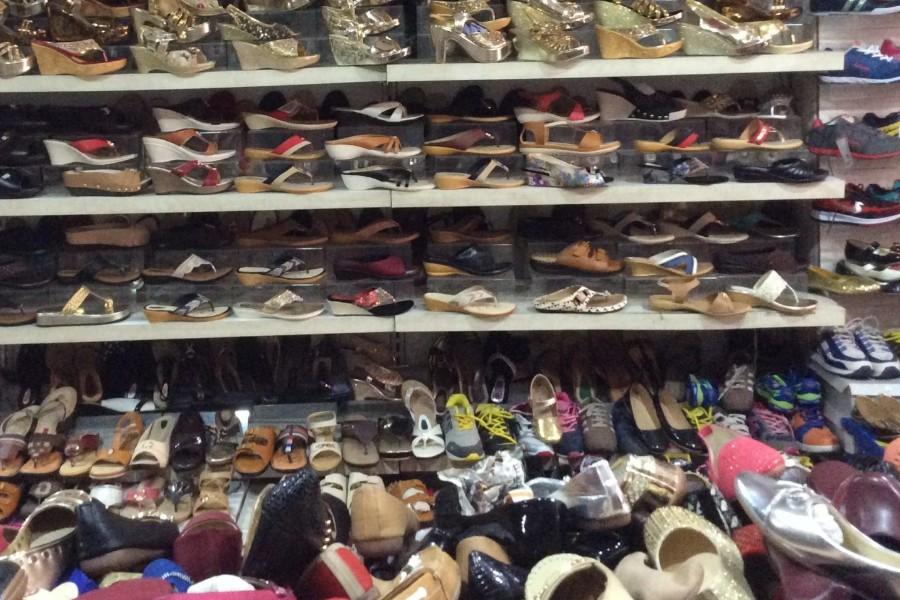 鞋子换季清仓叫卖录音