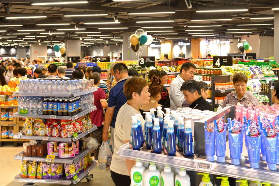 购物广场超市周年促销广告录音
